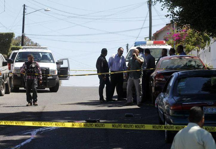 Sinaloa registró en los primeros 10 días de agosto 63 muertes relacionadas con el crimen organizado. (Archivo/Notimex)