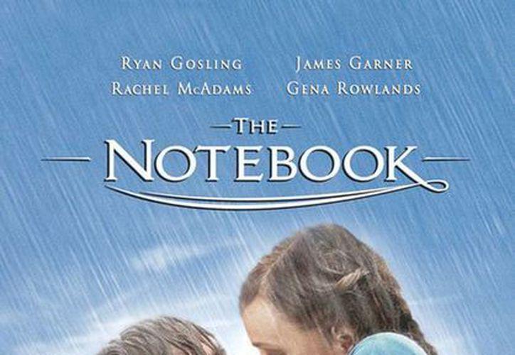 Cartel oficial de la cinta 'Diario de una pasión' (The Notebook), cuya historia resurgirá, pero ahora en una serie de televisión. (Facebook)