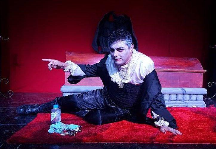 """""""Drácula tiene Sida,  ganó el tercer lugar en un festival de monólogos, en Nueva York. (Foto: Cortesía)"""