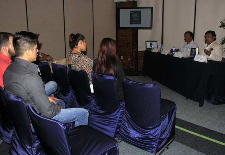 Ayer se realizó en Cancún el Congreso Anual de la Asociación Mexicana de Estudios Internacionales Asociación Civil. (Consuelo Javier/SIPSE)