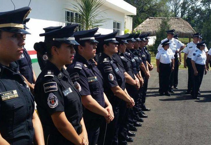 La Policía Federal desplegó ocho mil elementos adicionales en estas vacaciones. (Ángel Castilla/SIPSE)