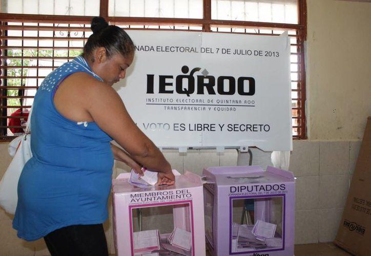 Actividades de la pasada jornada electoral. (Adrián Barreto/SIPSE)