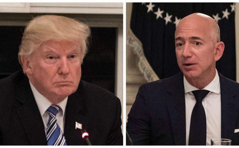 Trump arremete contra Amazon y le acusa de perjudicar empresas de EEUU