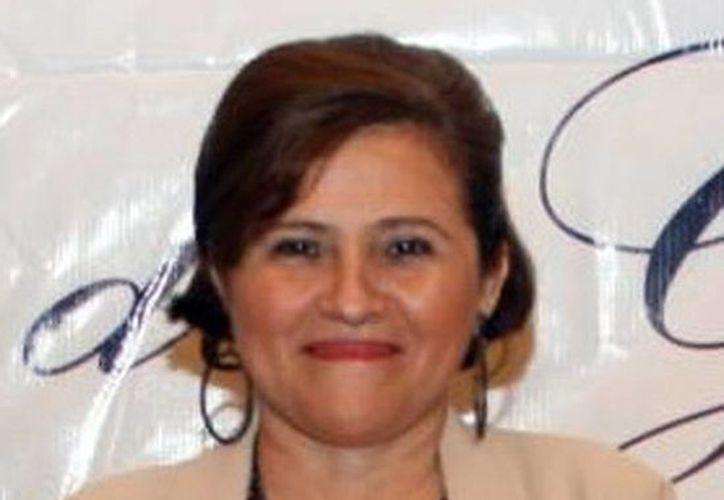 Diana Carmona Santisbón, rectora de la Universidad Latino, habló sobre la importancia de estar bien preparados ante el tema de la transparencia. (Milenio Novedades)