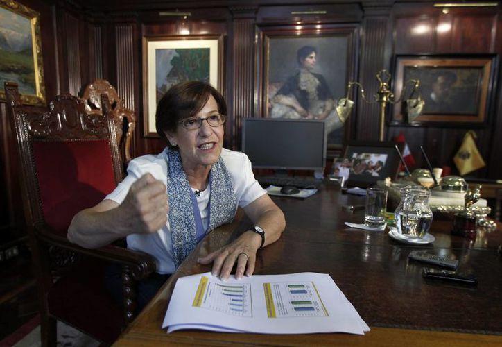 Susana Villarán enfrenta un pedido de revocatoria y sus posibilidades de sobrevivir a esa consulta son inciertas. (Agencias)