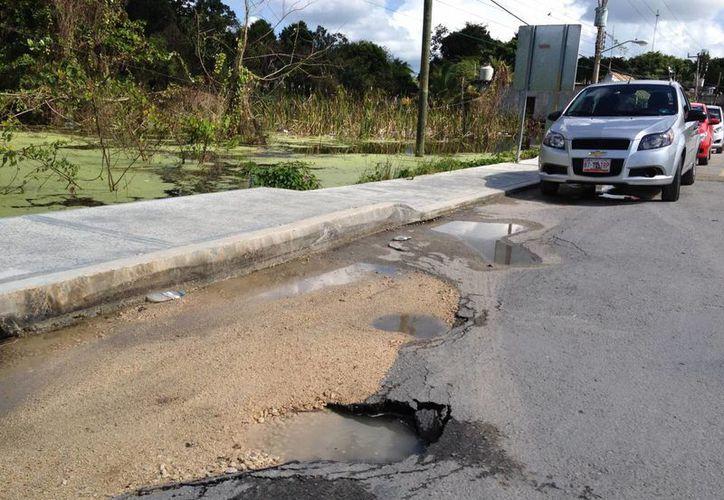 A pesar que el poblado de Cobá goza de gran interés los habitantes del lugar padecen la falta de servicios. (Rossy López/SIPSE)