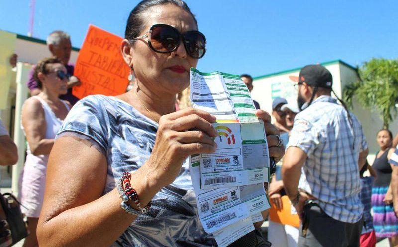 Hacen Nueva Protesta Contra La Cfe En Playa Por Altos Cobros