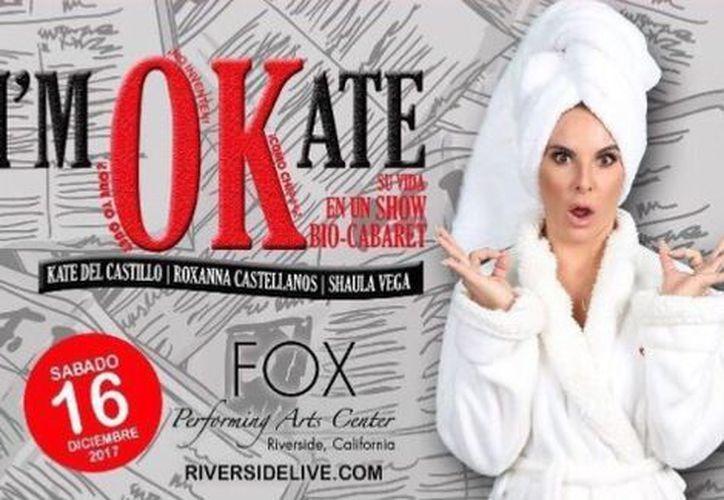 """Kate del Castillo contará sus """"miedos"""" y""""alegrías"""" en I'm Okate. (Foto: Instagram)"""