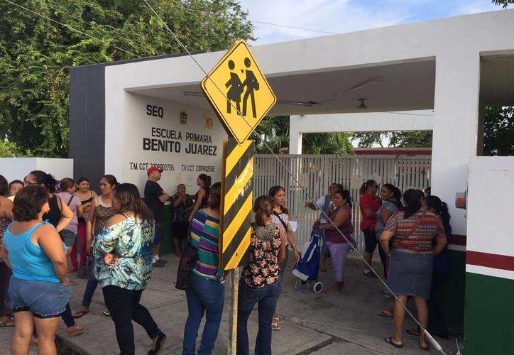 Para revertir el presunto acoso que sufrió un niños de la primaria Benito Juárez de Chetumal, el plantel realizará un taller de Conviencia. (Carlos Horta/SIPSE)