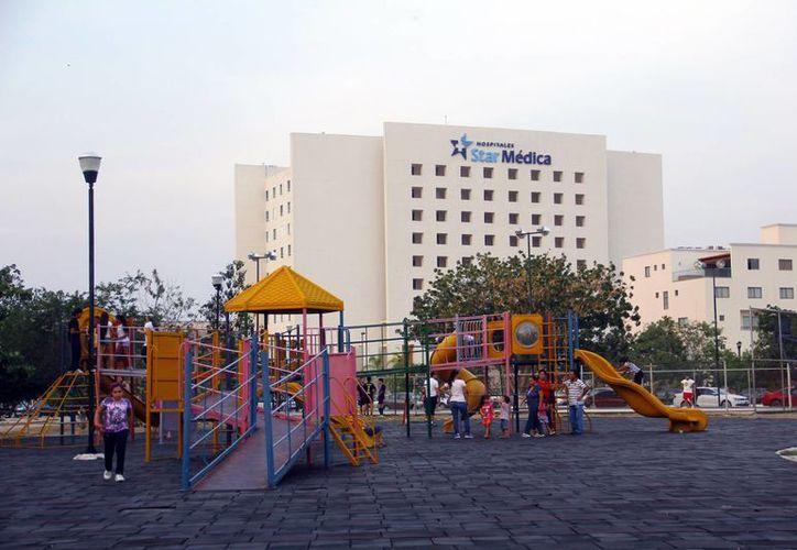 Al parque de Altabrisa asisten hasta 500 personas en un fin de semana. (Milenio Novedades)