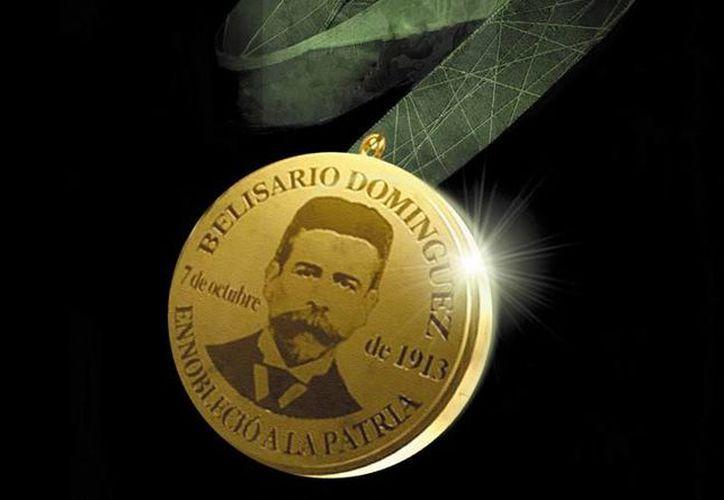 La medalla Belisario Domínguez es también un homenaje al mártir de la democracia y precursor de la libertad de expresión. (info7.mx)