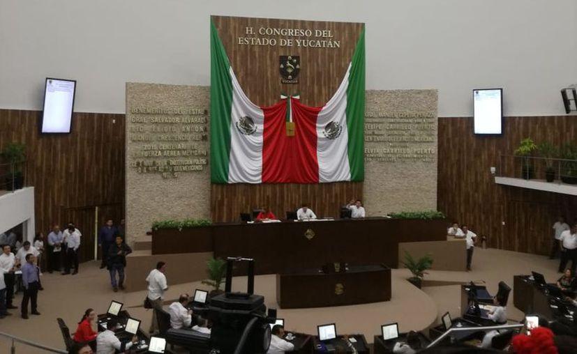 La votación en pleno se realizó este miércoles. (José Salazar/Novedades Yucatán)
