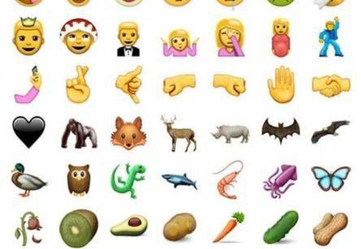 Los nuevos emojis estarán disponibles con la actualización de junio. (Unicode)