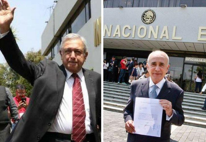 Los aspirantes entregaron su registro ante el Instituto Nacional Electoral. (Foto: Internet)