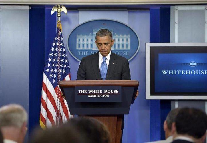 """""""No es suficiente que esos programas tengan mi confianza, también el pueblo debe confiar en ellos"""", indicó Obama. (EFE)"""