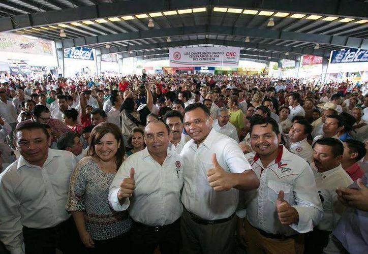 El Gobernador de Yucatán, Rolando Zapata, tiene dos eventos programados para este sábado. (SIPSE)