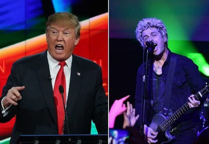 Billie Joe Armstrong, de la banda Green Day, comparó al candidato republicano a la presidencia de EU, Donald Trump, con Adolf Hitler, uno de los responsables de la Segunda Guerra Mundial. (idolator.com)