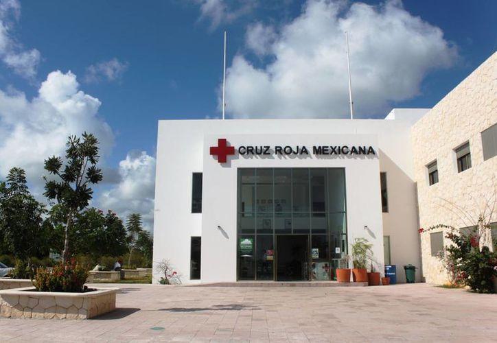 La Cruz Roja en Puerto Aventuras se mantiene cerrada debido a falta de recursos. (Daniel Pacheco/SIPSE)