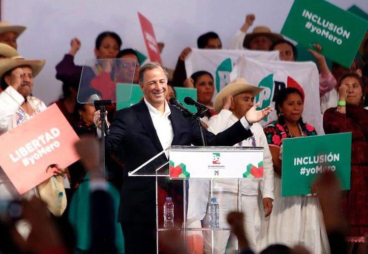 Meade viaja esta tarde a la capital yucateca para el arranque de su campaña por la Presidencia de México. (Facebook)