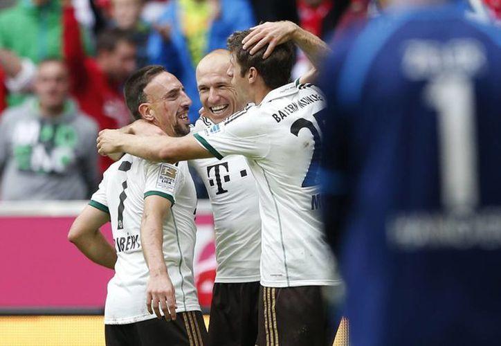 Franck Ribery fue el encargado de poner cifras definitivas al encuentro. (Foto: Agencias)
