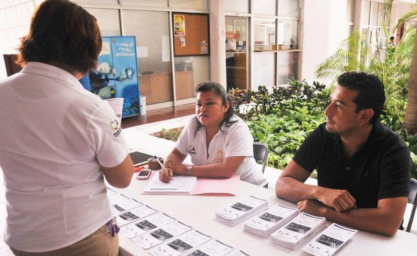 Instalan módulo de información en el Palacio Municipal. (Redacción/SIPSE)