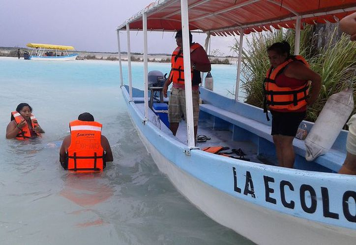 La mayor cantidad de los turistas son de origen nacional, principalmente de Campeche, Tabasco y Yucatán. (Javier Ortiz/SIPSE).
