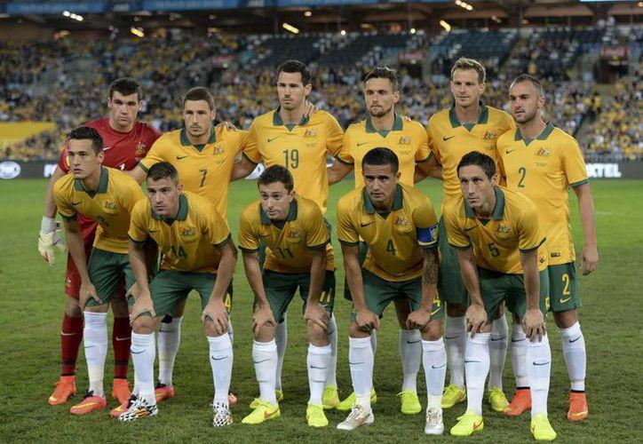 Australia debutará en el Mundial de Brasil frente a Chile. (EFE)