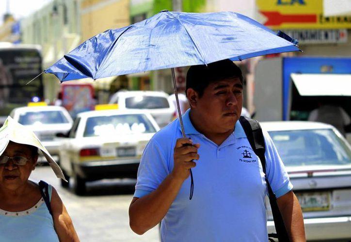 Para este fin de semana Conagua pronostica tormentas aisladas, aunque no paliarían el calor. (Christian Ayala/SIPSE)