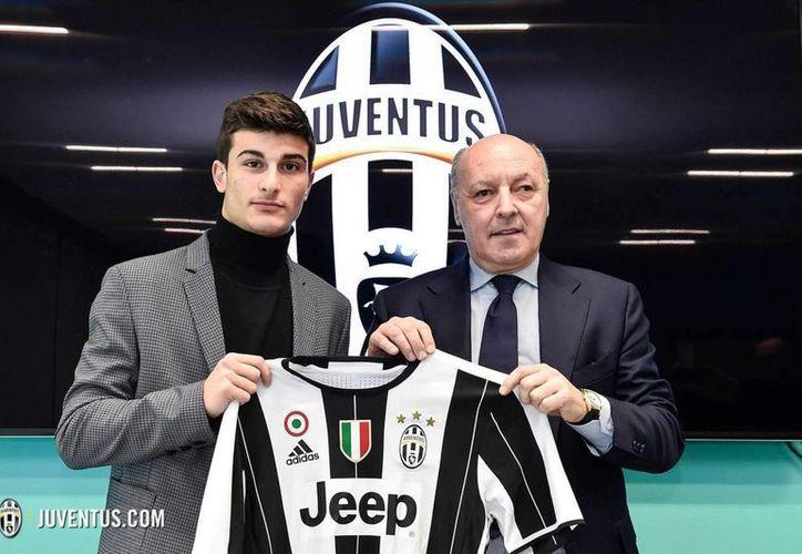 Riccardo Orsolini, de la selección sub-20 de Italia, ya forma parte de la Juventus. (Foto tomada de elsiglodetorreon.com.mx)