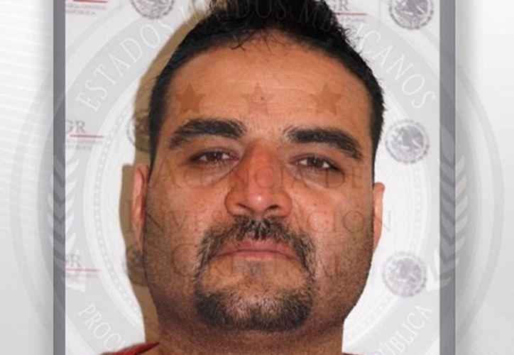 Imagen de 'El Chuyín', presunto líder delincuencial en Ciudad Juárez, detenido el día de ayer. (@PGR_mx)