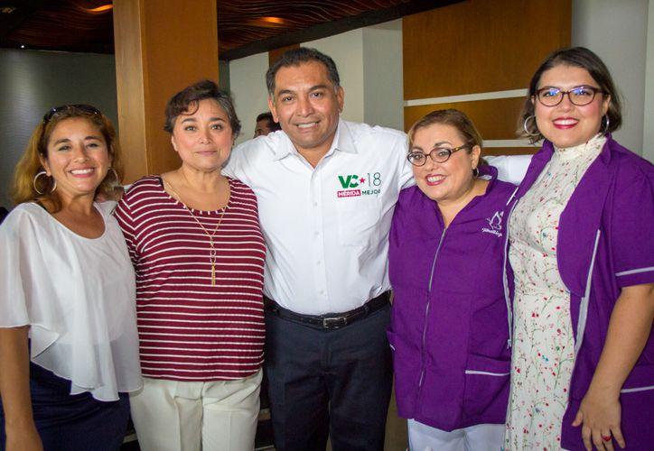 Víctor Caballero Durán propuso la creación del Programa Municipal de Apoyo Social para fortalecer a las organizaciones civiles y centros de investigación. (SIPSE)