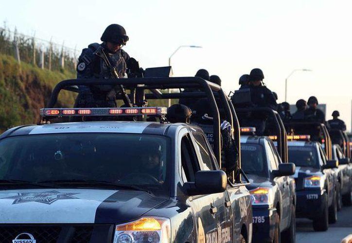 La Policía Federal coordinó el operativo para detener a Aquiles Gómez, hermano de Servando Gómez 'La Tuta'. La imagen no corresponde al hecho, es únicamente de contexto. (Ntx)