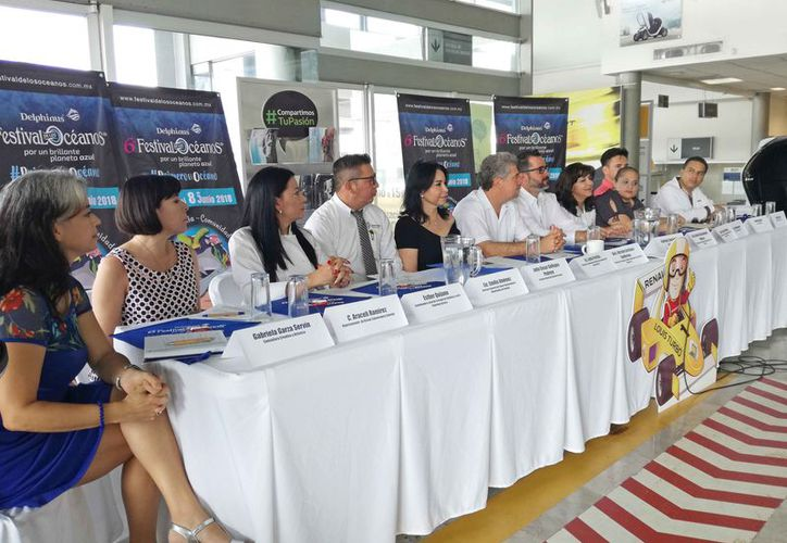 Los organizadores del evento dieron los pormenores de las actividades a desarrollar. (Ivette Ycos/SIPSE)