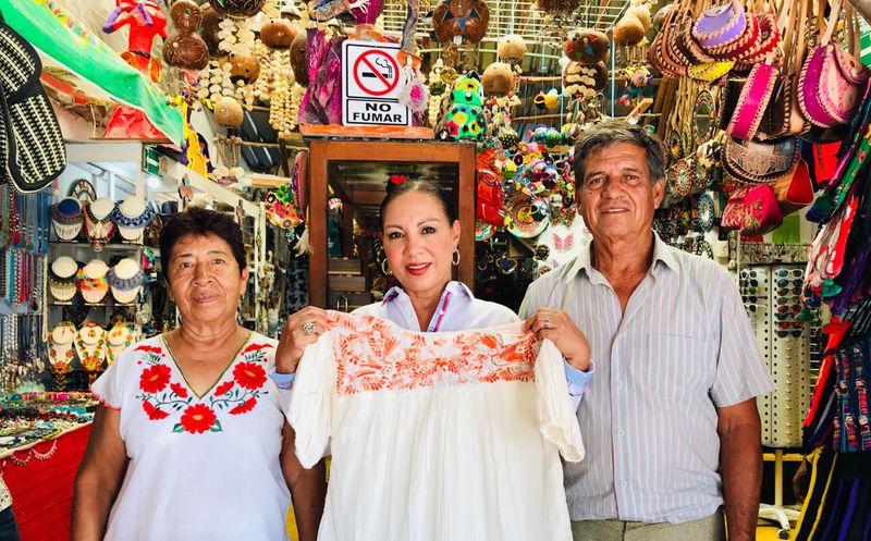 Hecho en Puerto Morelos será un catálogo de productos con capacidad de exportación, asegura la candidata.