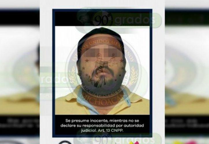 El curandero fue detenido por las autoridades de Apatzingán. (Imagen tomada de: noventagrados.com.mx)