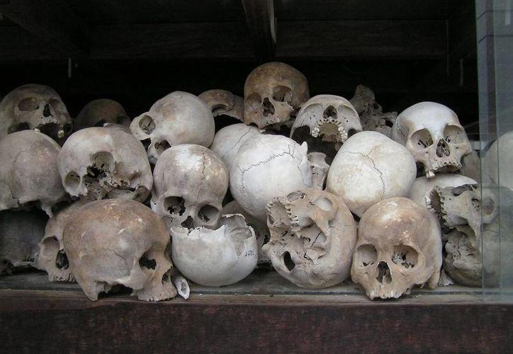 En el oratorio Oxholón se pueden observar restos de las personas que allí fueron enterradas. (Imagen estrictamente ilustrativa/ archivo)
