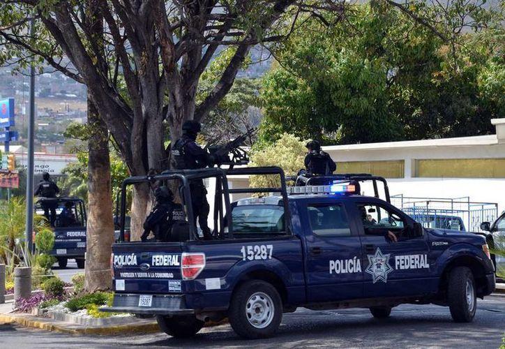 La Policía Federal ya está en la capital de Guerrero para 'suplir' a la  Municipal que entrará en una etapa de evaluación. (Archivo/NTX)