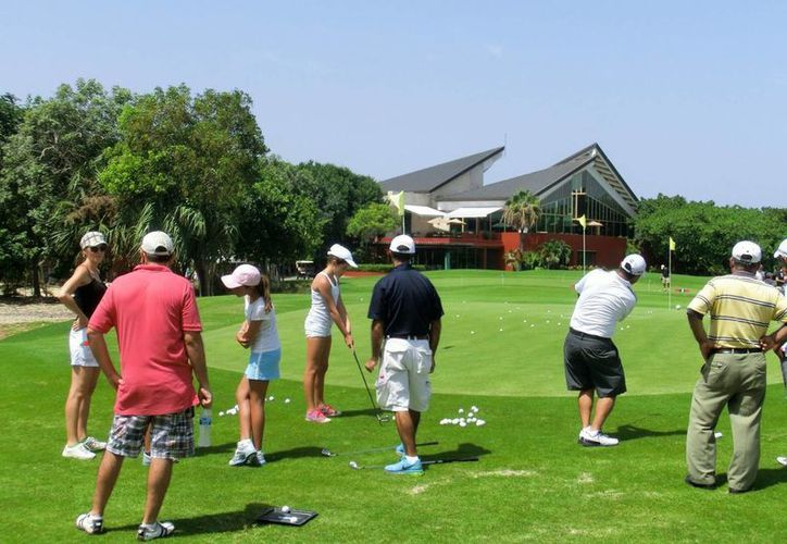 Se busca profesionalizar las actividades del Golf Para Todos. (Adrián Barreto/ SIPSE)
