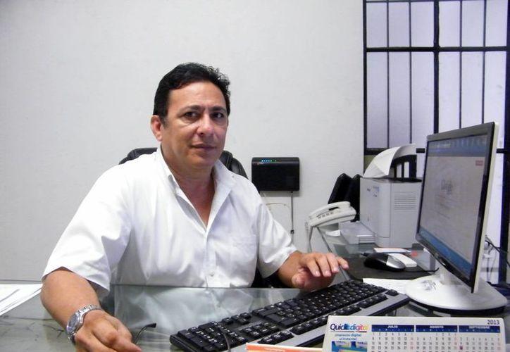 Rubén Coronado Alcocer, vicepresidente de la Asociación de Empresarios de Mérida. (Milenio Novedades)
