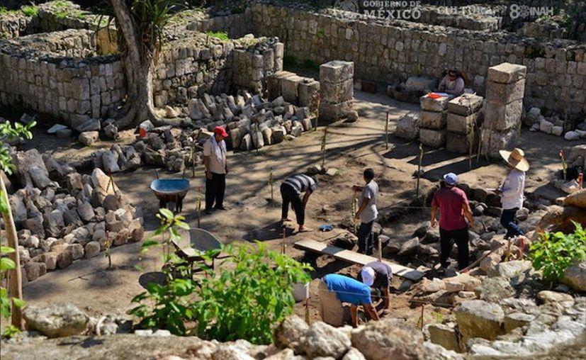En decenas de estructuras de Chichén Itzá, las y los investigadores emprenden mapeos y registros gráficos y planimétricos. (Foto: INAH)
