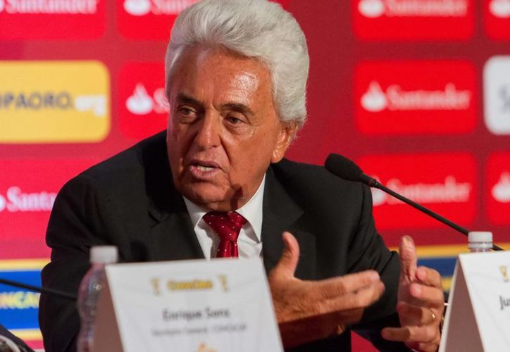 Justino Compean, miembro del comité ejecutivo de Concacaf. (Archivo Notimex)