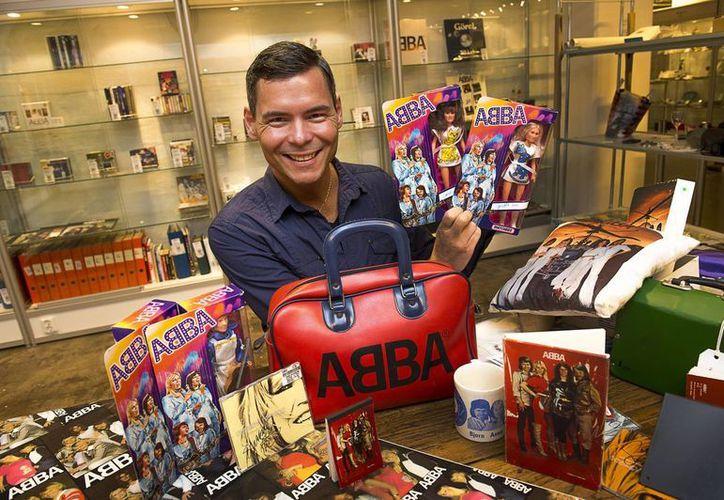 Nordin pasó casi 40 años alimentando su colección de ABBA. (Agencias)
