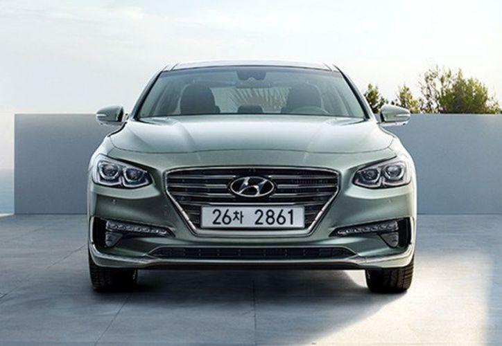 Samsung prueba sus tecnologías en coches autónomos fabricados por la compañía también surcoreana Hyundai. (Excélsior).