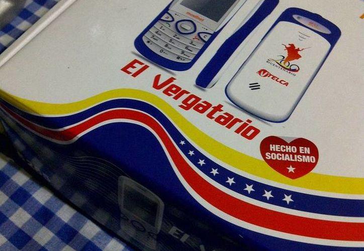 En su momento, Hugo Chávez dijo que el Vergatario era uno de los teléfonos más baratos del mundo. (Internet)