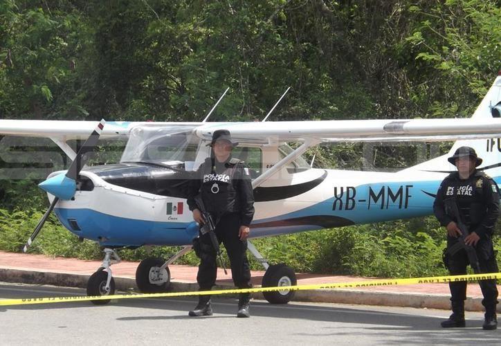 La aeronave despegó de Mérida a las siete de la mañana con destino a Cozumel. (SIPSE)