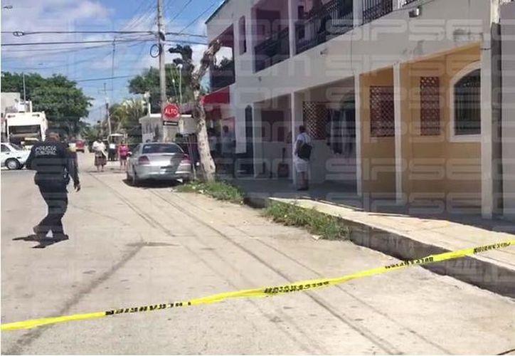 El cuerpo de la mujer fue hallado en una caja en su domicilio en la colonia Colosio de Playa del Carmen. (Foto: Contexto/SIPSE)