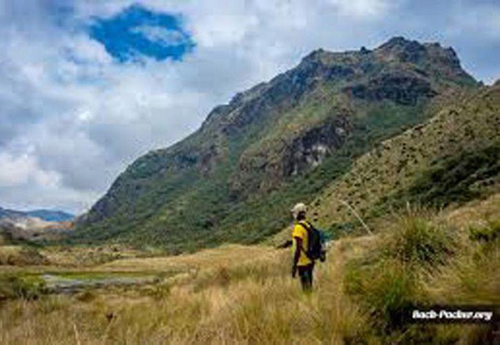 Imagen de contexto. Excursionistas estuvieron perdidos durante seis días en el parque Cayambe-Coca de Ecuador, donde fueron rescatados. (Bakc-Paker.org)