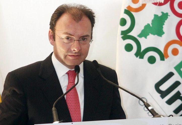 El secretario de Hacienda, Luis Videgaray. (Agencias)