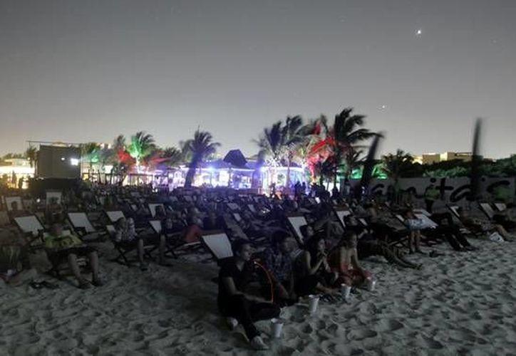 Algunas de las funciones del Riviera Maya Film Festival se llevarán a cabo al aire libre. (Rmff)
