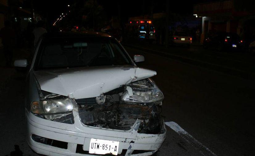Los accidentes vehiculares son una de las principales causas de muerte en el mundo, en particular de personas menores de 30 años. (Irving Canul/SIPSE)